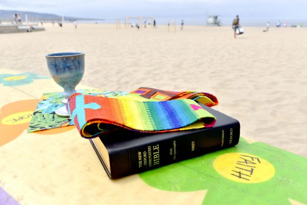 Beach Mass This Sunday, July 21 -- Dodger Ticket Orders Due -- Bishop's Concert