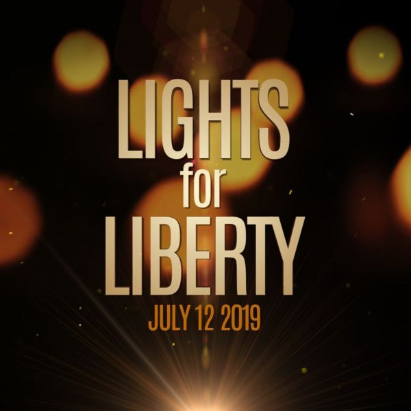 Lights for Liberty, 7/12 at 8 PM
