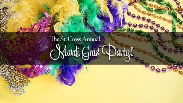 Mardi Gras Party Tuesday, March 5!