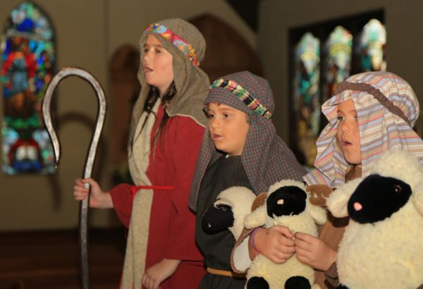 Christmas Pageant on Sunday at 5 PM