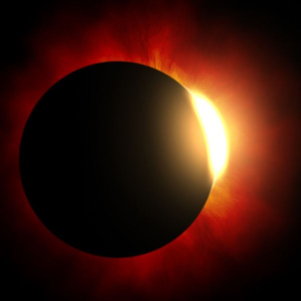Solar Eclipse Viewing Party at St. Cross: August 21, 9:45 - 11 AM