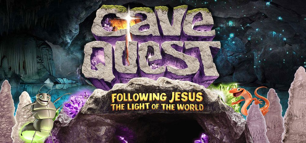 Sign up for Cave Quest VBS! Welcome party July 10, VBS July 11-15 with a Beach Eucharist on Sunday the 17th.